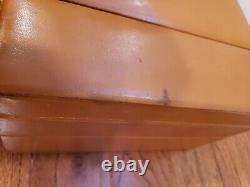 Vintage Boyle Leather Cosmetics Train Case Key RARE