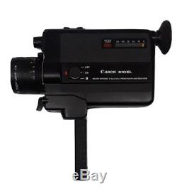 Vintage Canon 310XL Super 8 Movie Camera withOriginal Leather Case (Brand New!)