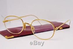 3d499233fa5 Vine Cartier Paris Glasses Frames 49 19 With Original Leather Case. Cartier  Sunglasses Santos Dumont 61 16 T820081 48802 Glasses Limited Edition