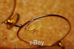 Vintage Cartier Paris glasses frames 49-19 with original leather case
