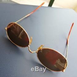 Vintage Cartier Paris glasses frames 51-19 with original leather case