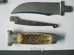 Vintage Case XX Knife, Hatchet and Ruler Combo withLeather Sheath