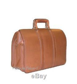 Vintage Chesnutt Leather COACH Lawyers / Scholars Brief Case / Doctors Bag M6H