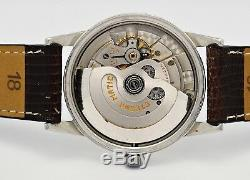 Vintage ETERNA Automatic, steel case, original gilt dial, 50's swiss men's watch