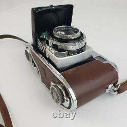 Vintage Kodak Retina III C 3 Germany Camera & Original Leather Case