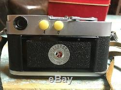 Vintage Leica M3-818677 35mm Camera 1956 with Leather Case And Original Box