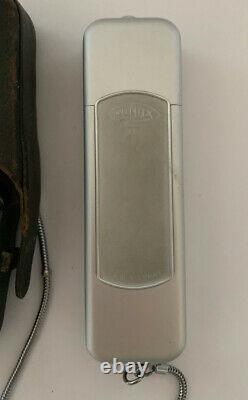 Vintage MINOX B SPY CAMERA 15mm f/35 Lens With Original Chain & Leather Case