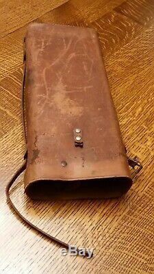 Vintage Mossberg Model A spotting scope COMPLETE With Original Stand, Leather Case
