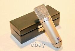 Vintage Neumann U87 Microphone with SG 367, WS 87, with Original Leather Case+Key