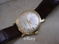 Vintage Omega ref. 6289 Cal. 550, Original Silver Dial. 33.4mm Case. CHEVROLET