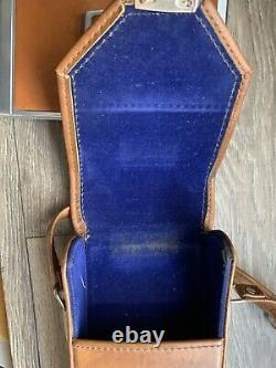 Vintage POLAROID SX70 LAND CAMERA and Leather Case Original Owner