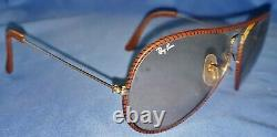 Vintage Ray-Ban Leathers Sunglasses with Case