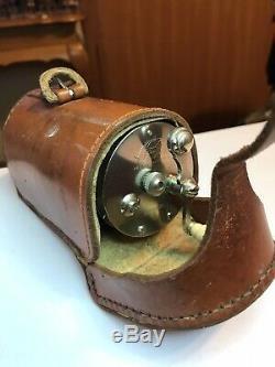 Vintage Redifor BEETZSEL Fishing/Casting Reel WithOriginal leather Case VGC