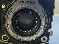 Vintage Rolleicord Franke & Heidecke TLR Film Camera in original leather case