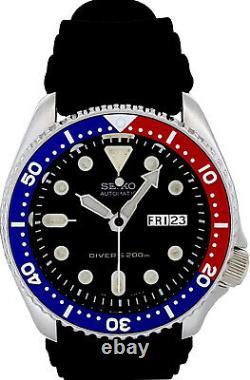 Vintage SEIKO PEPSI diver SKX009 with withOriginal dial, 7S26-0020 case & movement