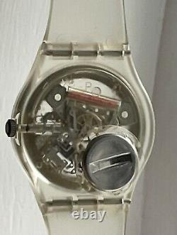Vintage Swatch Jelly Fish GK100 Swiss Made (1985) With Original Case