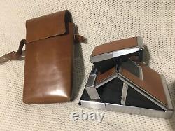 Vintage Untested Polaroid SX 70 Land Camera with original leather case