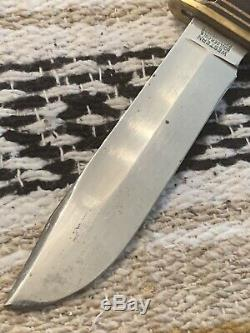 Vintage WW2 1940s Western USA L46-5 Baby Shark MK1 USMC U. S. Navy Knife WithCase