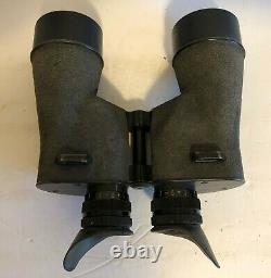 Vintage WW2 US Navy Mark 21 SarD Square D 7X50 Aero Binoculars with Leather Case