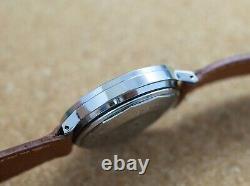 Vintage mens Vulcain Calendate day date automatic all original steel case rare