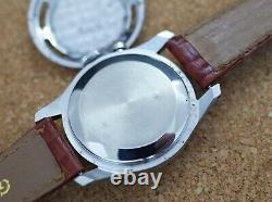 Vintage mens Vulcain Cricket Alarm amazing condition all original dial and case