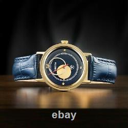 Vintage watch Raketa copernicus 1980 new dial and case (original mechanism)