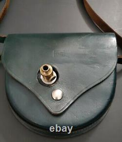 Vtg 1950's Keuffel & Esser Surveyor's Compass in Original Leather Carrying Case