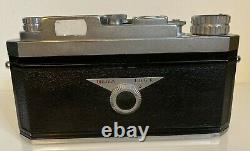 WIDELUX F6 Panoramic 140° camera, 35mm, exc condition, original leather case