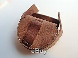 WW2 Japanese NCO-Officer Goggles with Nice Leather Case (Original)