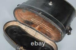 WWII German Pre-war 6x30 Dienstglas Binoculars Leather Case Original WW2 1935