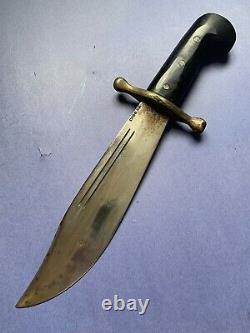 WWII WW2 US V44 CASE XX KNIFE WithORIGINAL LEATHER SHEATH