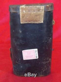 WWI GERMAN NAVY BINOCULAR (CARL ZEISS JENA) with ORIGINAL LEATHER CASE