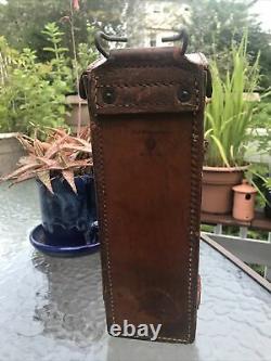 WWI Leather US Sniper Scope Case Warner Swasey Co. Diamond ABD D, M1913