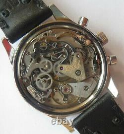 Wittnauer Chrono Date Professional mens wristwatch steel case all original
