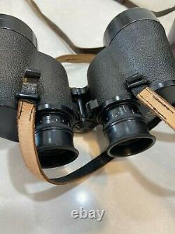 Zeiss 7X50 B Binoculars with original straps & Leather case