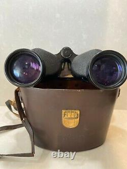 Zeiss 7X50 B Binoculars with original straps & Leather case Mint Condition