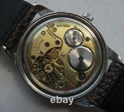 Zenith Sporto mens wristwatch steel case screw cap load manual original dial